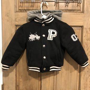 Size 4 US Polo Assn. Boys Coat w/ Detachable Hood